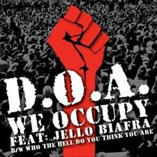We Occupy/Who the Hell Do You Think You Are [Single] by D.O.A. (Vinyl,...