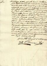 Certificato di Morte Sig. Anton Maria Piccini rilasciata dal Vicario Empoli 1804