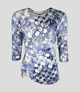 Seidel - Damen T-Shirt 3/4 Arm - Mittelblau - 2012152006