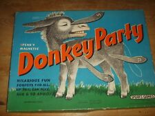 Spears Vintage Magnetic Donkey Party Game