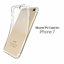 Crystal Clear Gel TPU Soft Cover Case for iPhone 7 UK