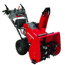 "Honda HSS724A (24"") 196cc Two-Stage Snow Blower w/ 12-Volt Electric Start"