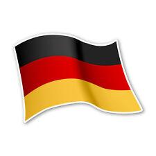 Deutschland Flagge Germany Autoaufkleber Sticker Fahne Aufkleber DRU 0061