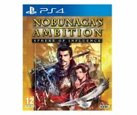 Nobunaga's Ambition: Sphere of Influence (Sony PlayStation 4, 2015)