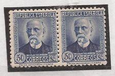 1936-38 Personajes Ed, 688* MH VC 16,00€ PAREJA