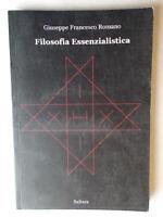 Filosofia essenzialisticaRomano Giuseppe Francesco saltaraessenzialismo nuovo