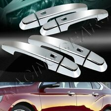 MIRROR CHROME DOOR HANDLE COVERS CAPS TRIM 8-PCS FIT 14-19 CHEVROLET IMPALA