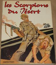 SORPIONS DU DESERT  / Les scorpions du désert / EO 1977 / TBE-