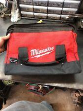 New Large Milwaukee Heavy Duty Canvas Drill,Tool Bag/Case, 18V 12 14 18 Volt