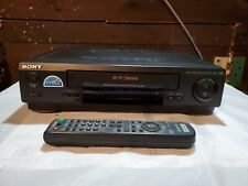 Sony Slv-679Hf Vcr Vhs Player/Recorder With Remote Control