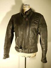 HEIN GERICKE MOTORRADJACKE  Gr 42  ( 40 ) schwarz Leder Bikerjacke