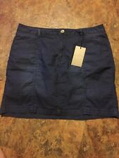 Baccini NY  Mini Skirt Women's Sz 12P  With Attached Shorts NWT
