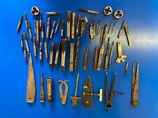 JOBLOT OF ENGINEERING tools, Taps, dies etc.