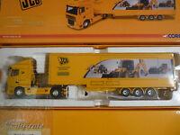corgi Lorry JCB DAF XF SPACE CAB EXHIBITION UNIT CC13237