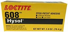 Loctite 398456 Clear 83082 608 Hysol High Strength Epoxy Adhesive 28 Oz Kit