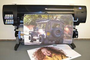 """HP Designjet Z6100 60""""UV LARGE FORMAT BANNER CANVAS POSTER A1 A0 Z3100 Z6200"""