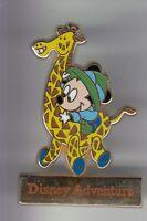 RARE PINS PIN'S .. DISNEY ADVENTURE JAPON TOKYO MICKEY MOUSE GIRAFE GIRAFFE ~17