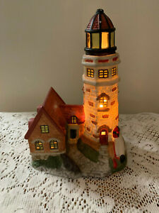 Christmas Village Light up Light House