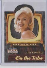 2015 Panini Americana On the Tube Die-Cut Insert Card #4 Jayne Mansfield