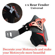 1xMotorcycle Rear Fender Mud Dust Wheel Splash Cool CNC Aluminum Alloy Accessory