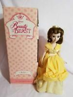 """RARE! DISNEY Beauty and The Beast Belle Porcelain Doll Limited Edition 18"""""""