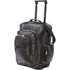 Embassy™ Leatherette Rolling Trolley/Backpack