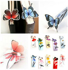 4X Cartoon Butterfly Book Marks Paper Clip Office School Bookmarks Girl's Gifts