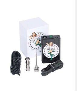 Electric Titanium Alloy E-Nail Box Temperature Control Heater
