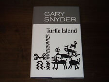 TURTLE ISLAND--SIGNED by GARY SNYDER--HARDCOVER