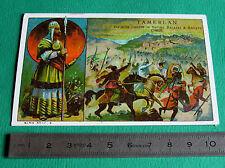 CHROMO IMAGE BON-POINT 1925-1930 TAMERLAN BATAILLE SULTAN BAJAZET ANCRYRE CHINE