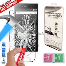 "For 5.5"" Sony Xperia Z5 Premium Genuine Tempered Glass Film Screen Protector"