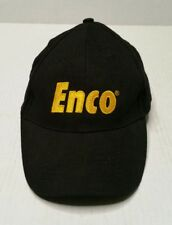 Enco Tools Casual Hat Adjustable Adult Unisex Black HTF