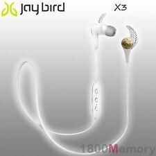 GENUINE Jaybird X3 Sport Bluetooth Wireless Buds Headset Earphone Sparta White