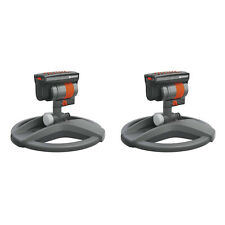 New listing Gardena Outdoor ZoomMaxx Oscillating Sprinkler on Weighted Sled Base (2 Pack)