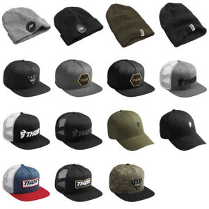 2019 Thor MX Snapback, Trucker Hats & Beanie Casual Apparal  - Pick Size/Color