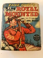 King Of the Royal Mounted & The Great Jewel Mystery Better Little Book 1939
