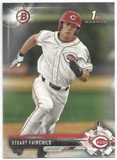 Stuart Fairchild Cincinnati Reds 2017 1st Bowman Draft Baseball
