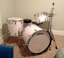 Ludwig Legacy 3pc Drum Set White Marine Pearl