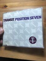 Transit Position Seven Cd Techno DJ Compilation Dance Electronica