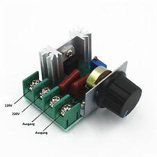 PWM Drehzahlregler 2000W, 50-220V/AC, 25A, Motor Speed Controller