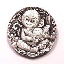 Shenyang mint 2016 Chinese Lunar monkey 80g silver China Medal