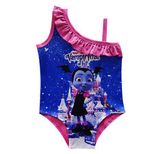 US STOCK Vampirina Girls Swimsuit Swimwear Bathing Suit One Piece  4-12  k26