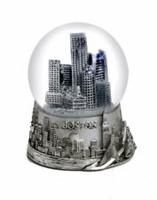 Boston Massachusetts Silver Snowdome Snow Globe-New -Zizo - 65 Mm