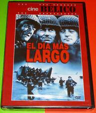 EL DIA MAS LARGO / THE LONGEST DAY English Español DVD R2 Precintada