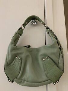 Kenneth Cole leather hobo/shoulder bag
