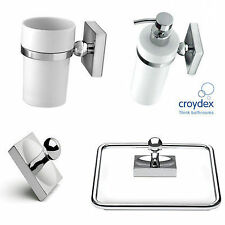 Croydex Chrome Bath Accessory Sets