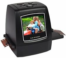 NEW 22MP All-In-1 Film and Slide Scanner w/ Speed-Load Adapters 35mm Negative