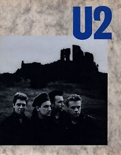 U2 1984 UNFORGETTABLE FIRE TOUR CONCERT PROGRAM BOOK / ONLY 10 U.S. DATES