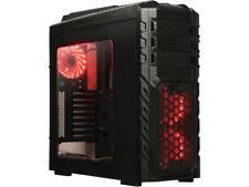 DIYPC Skyline-06-RGB Black Dual USB 3.0 ATX Full Tower Gaming Computer Case with