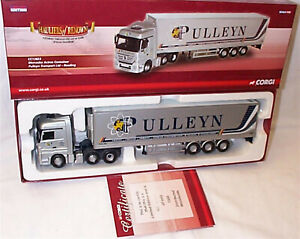 Mercedes Actros Container Pulleyn Transport CC13823 1-50 New in box ltd edition